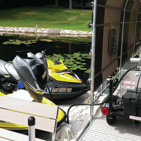 Gas Trailer jet ski water