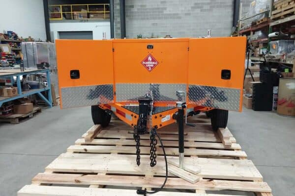 Gas Trailer refueler 400 quad 16
