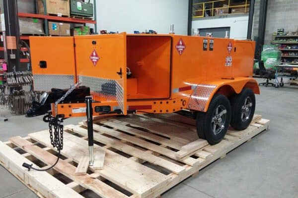 Gas Trailer Refueler 400 Quad 17