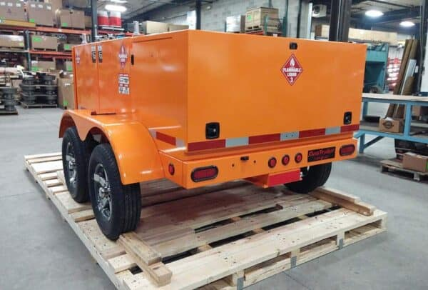 Gas Trailer refueler 400 quad 2