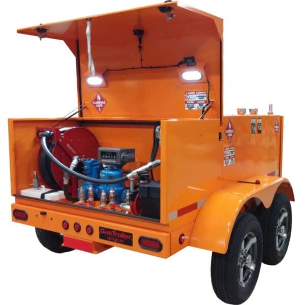 Gas Trailer Refueler 400 Quad