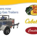 Robinson Gas Trailers available through Bass Pro Shops, Cabela's